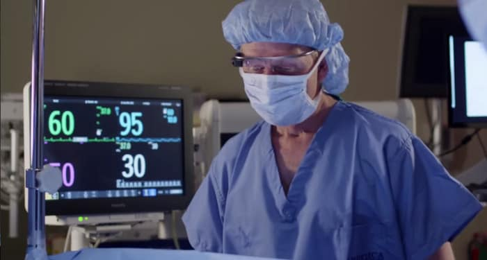 Google Glass and anesthesia: see patient vitals in the OR