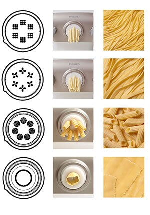 create various type of pasta