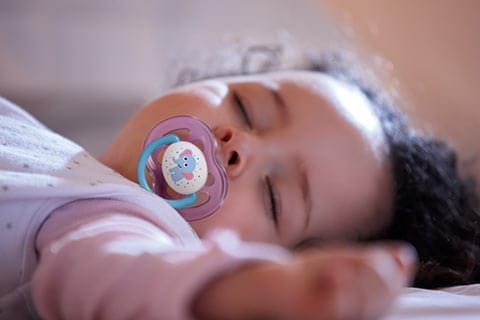 Why it's healthy to use a pacifier